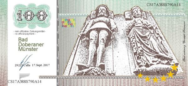 Der Doberaner Münster, eine Souvenir Note zum Sammeln