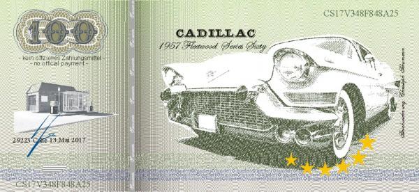 Cadillac, eine Souvenir Note zum Sammeln